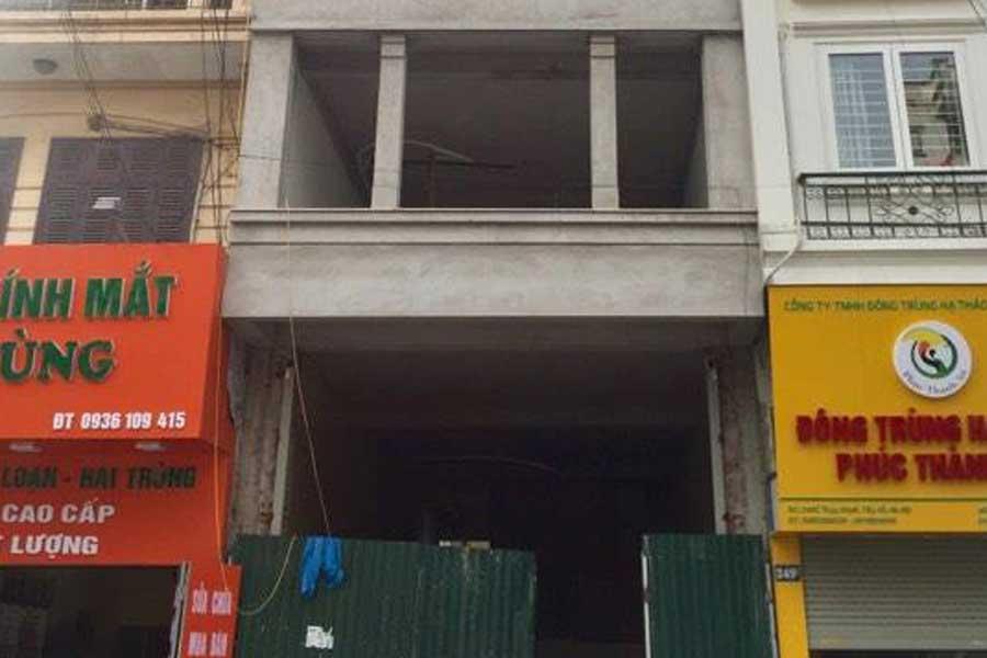 Nhà 4 tầng, 80m2