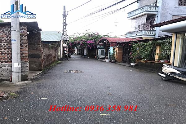 Cần bán nhanh lô đất 43.8m2 tại tổ 9 Cự Khối, Long Biên, Hà Nội. Lô góc 2 mặt tiền